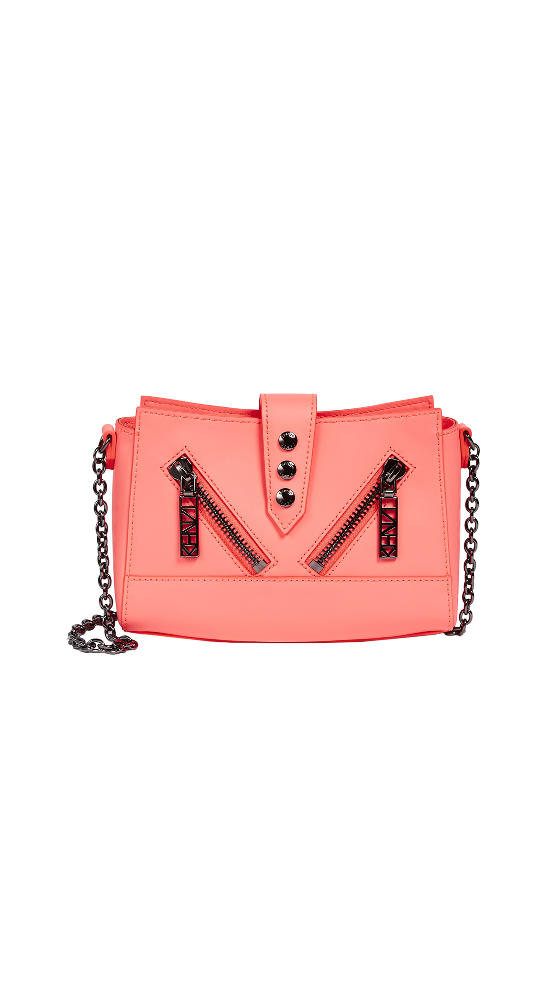 KENZO Kalifornia Cross Body Bag - Coral