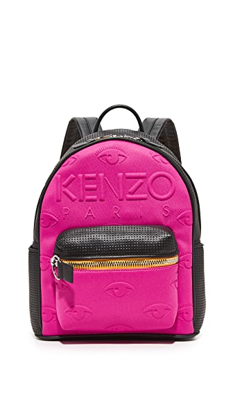 KENZO Kalifornia Backpack In Deep Fuschia