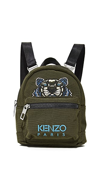 KENZO Mini Backpack - Dark Khaki