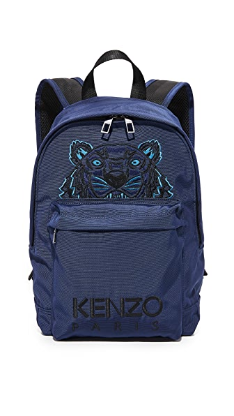 KENZO Small Backpack In Navy Blue