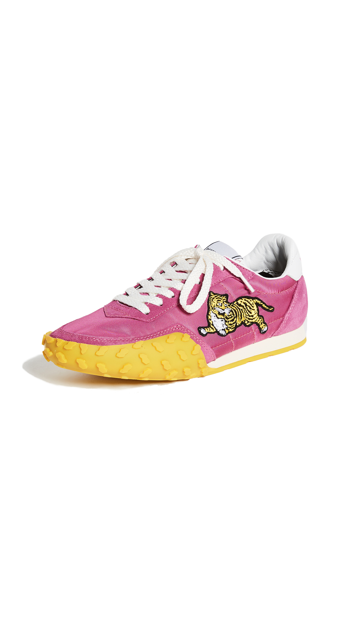 KENZO K-Run Memento Sneakers - Fuchsia
