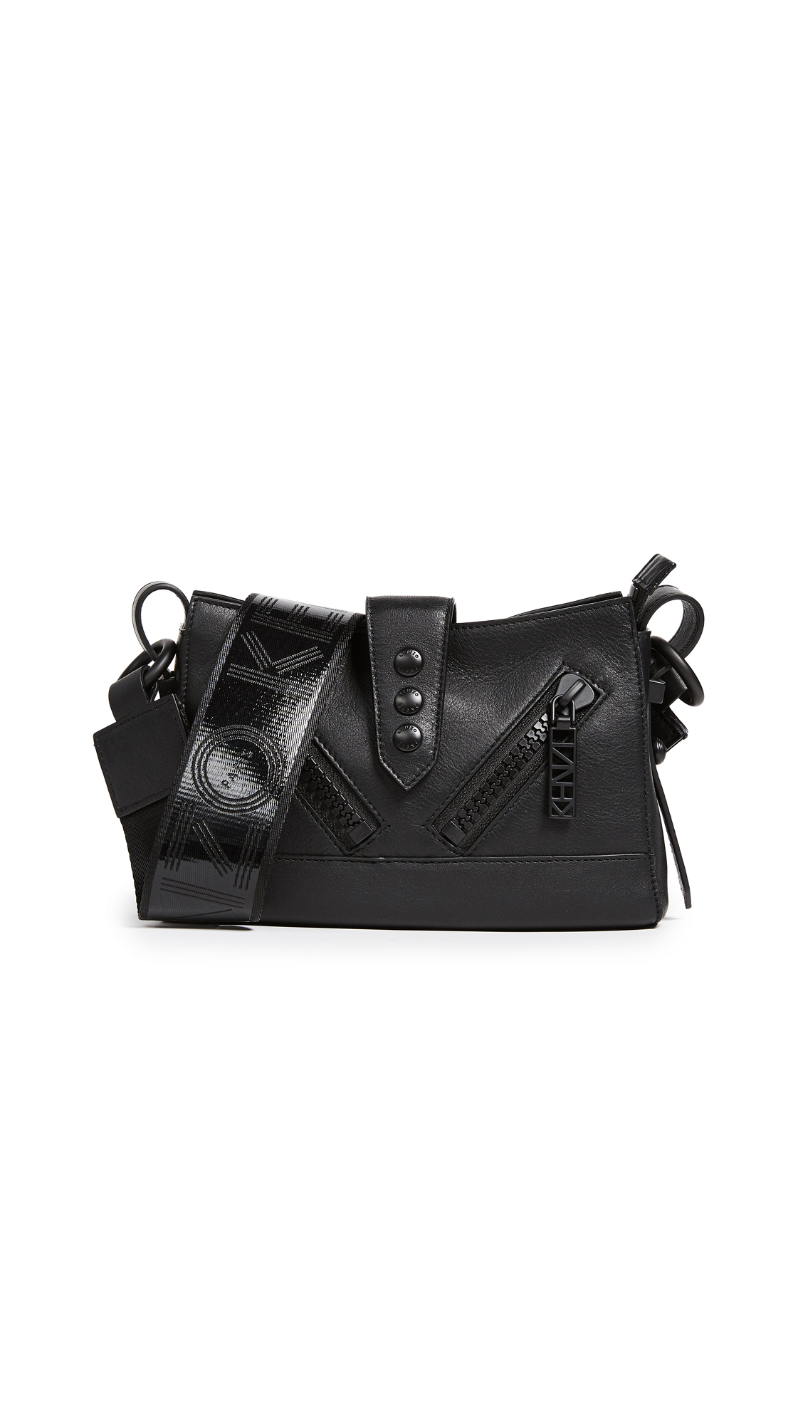 KENZO Kalifornia Mini Shoulder Bag - Black