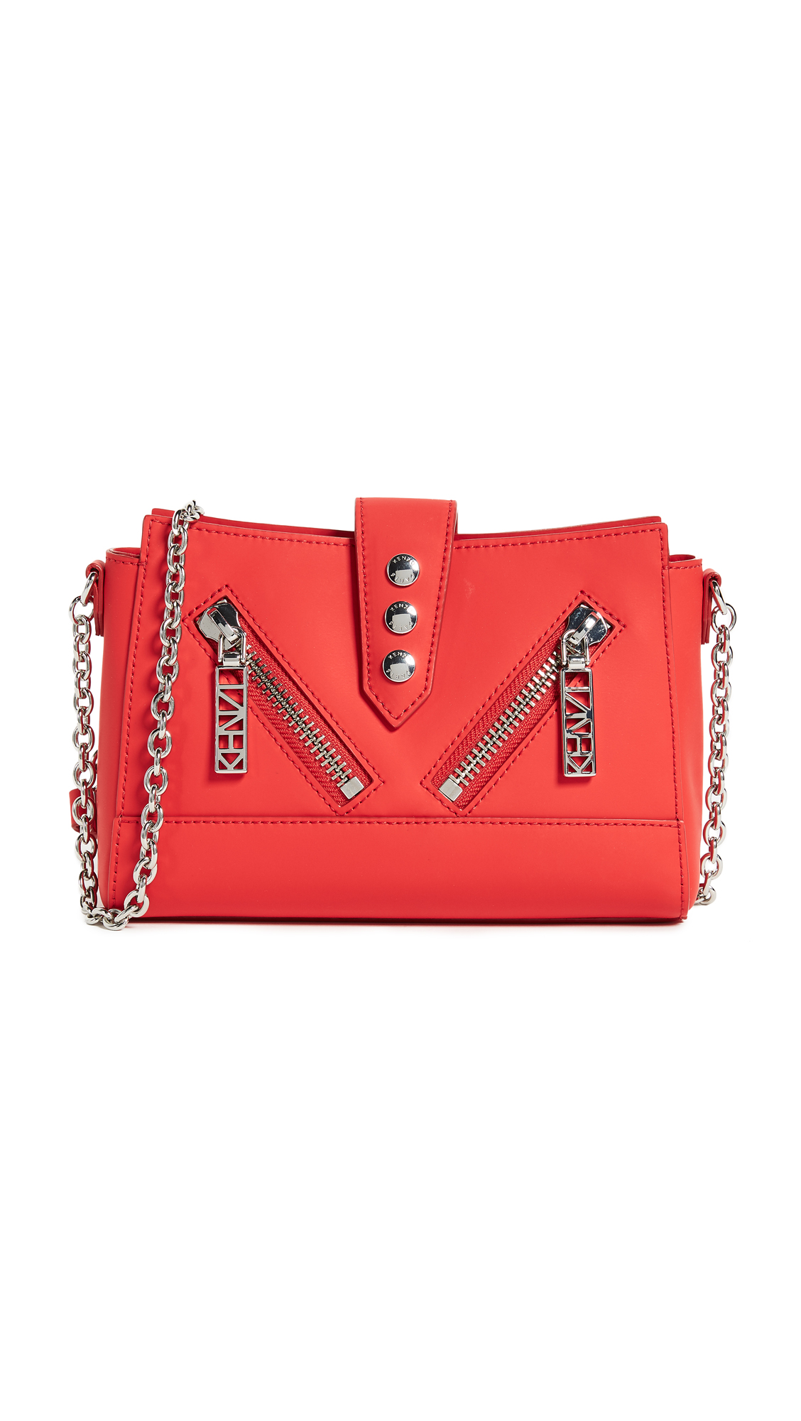 KENZO Kalifornia Cross Body Bag - Red