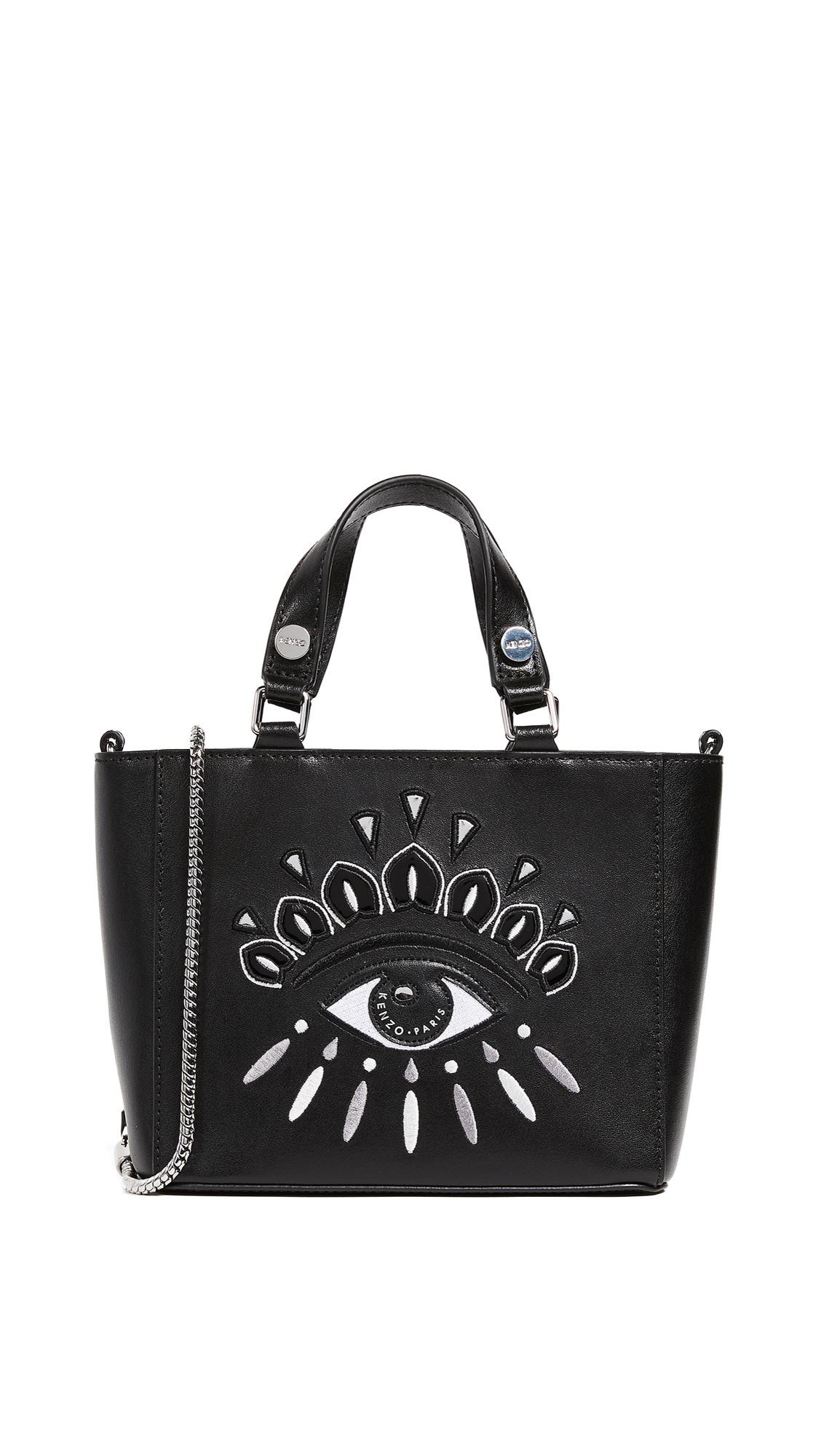 KENZO Top Handle Bag - Black