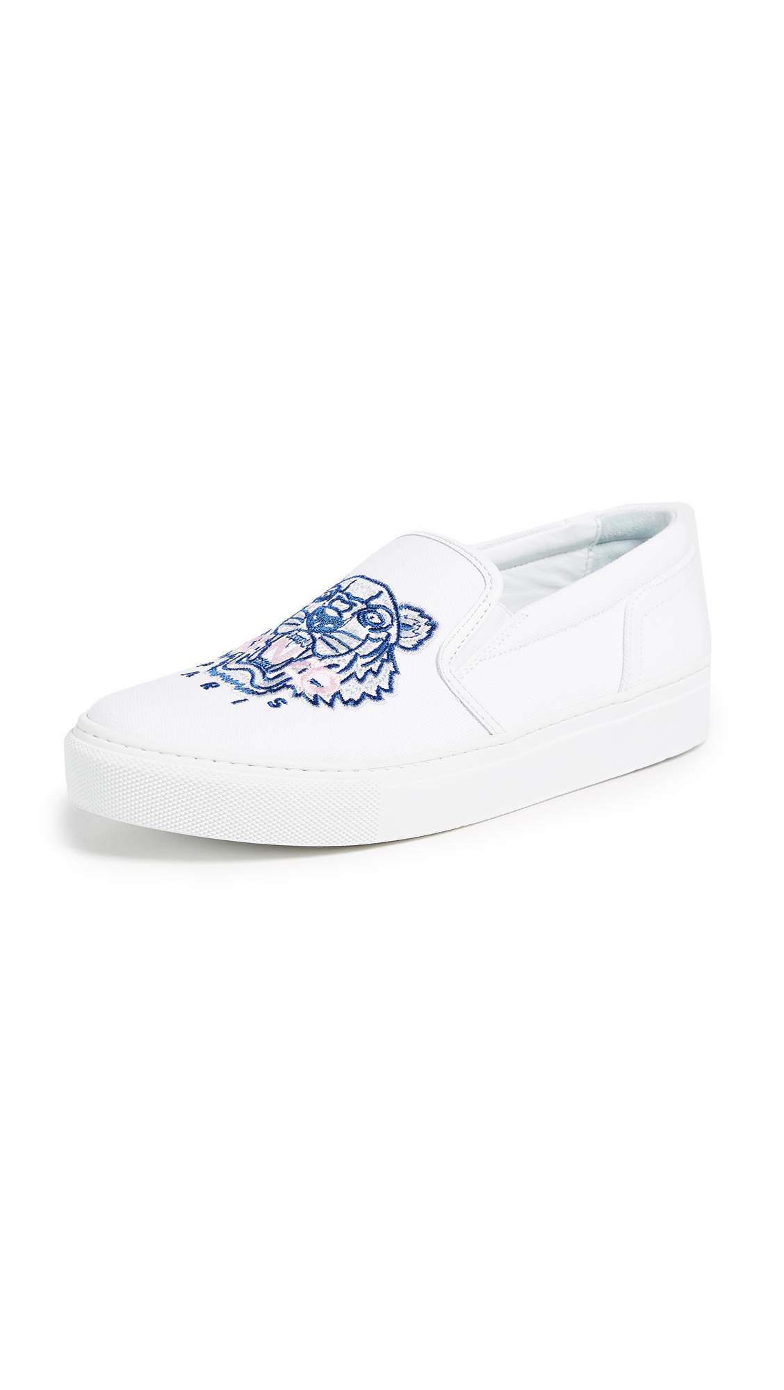 KENZO K-Skate Tiger Sneakers - White