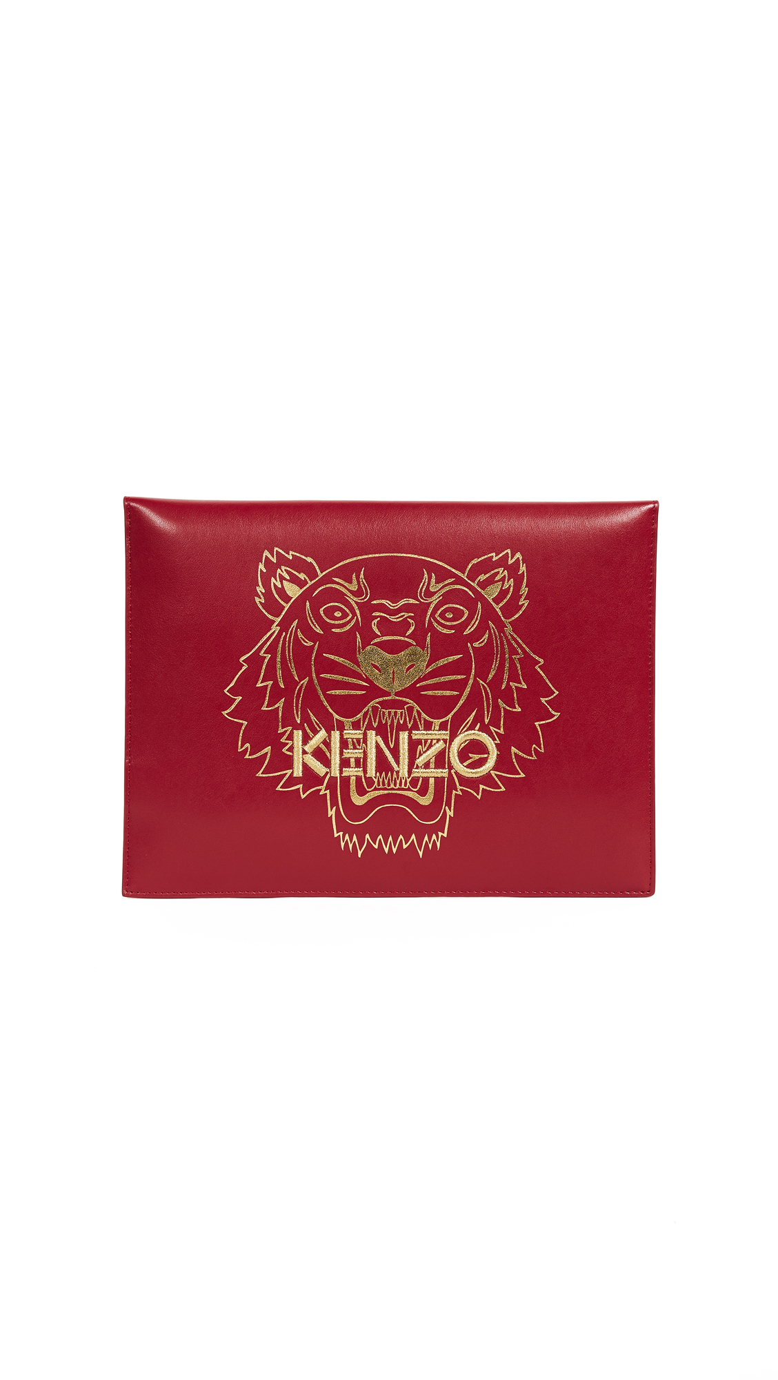 KENZO Kenzo Tiger Pouch - Red