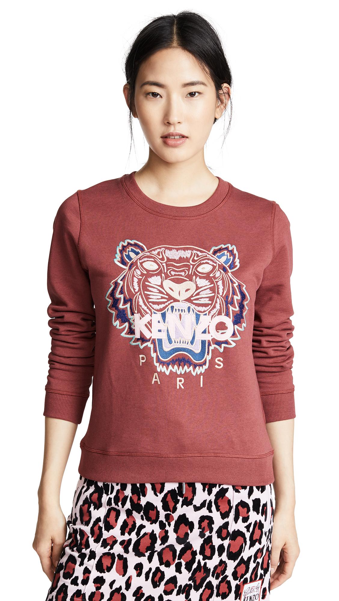 KENZO Tiger Classic Sweatshirt - Suede