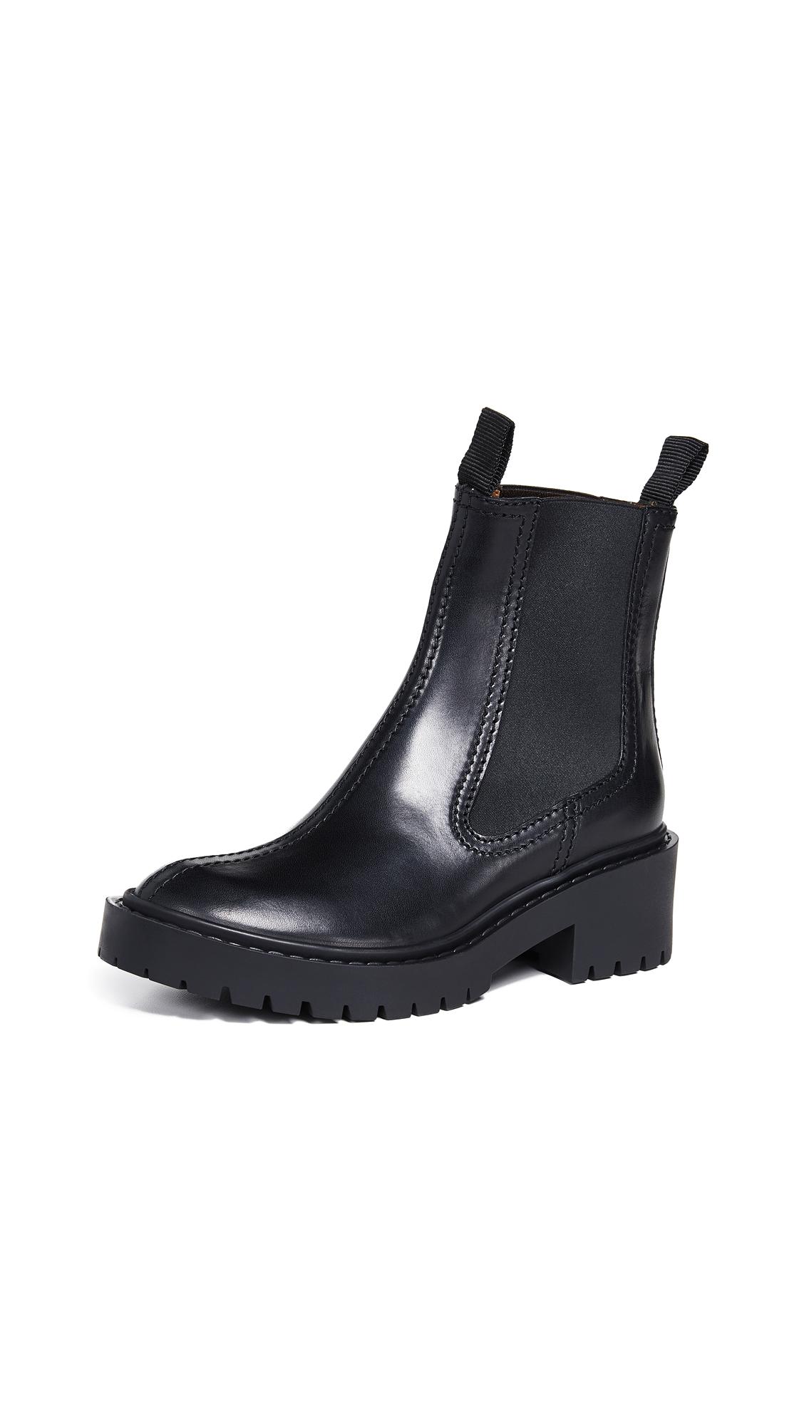 KENZO Pike Elastic Booties - Black