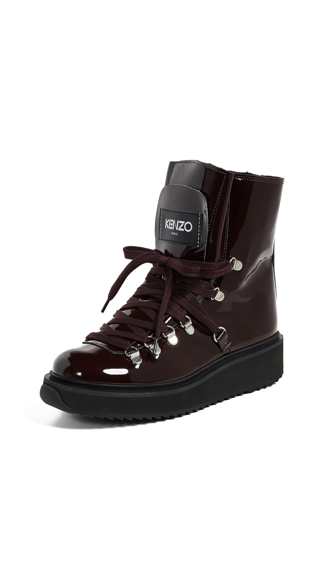 KENZO Alaska Boots - Bordeaux