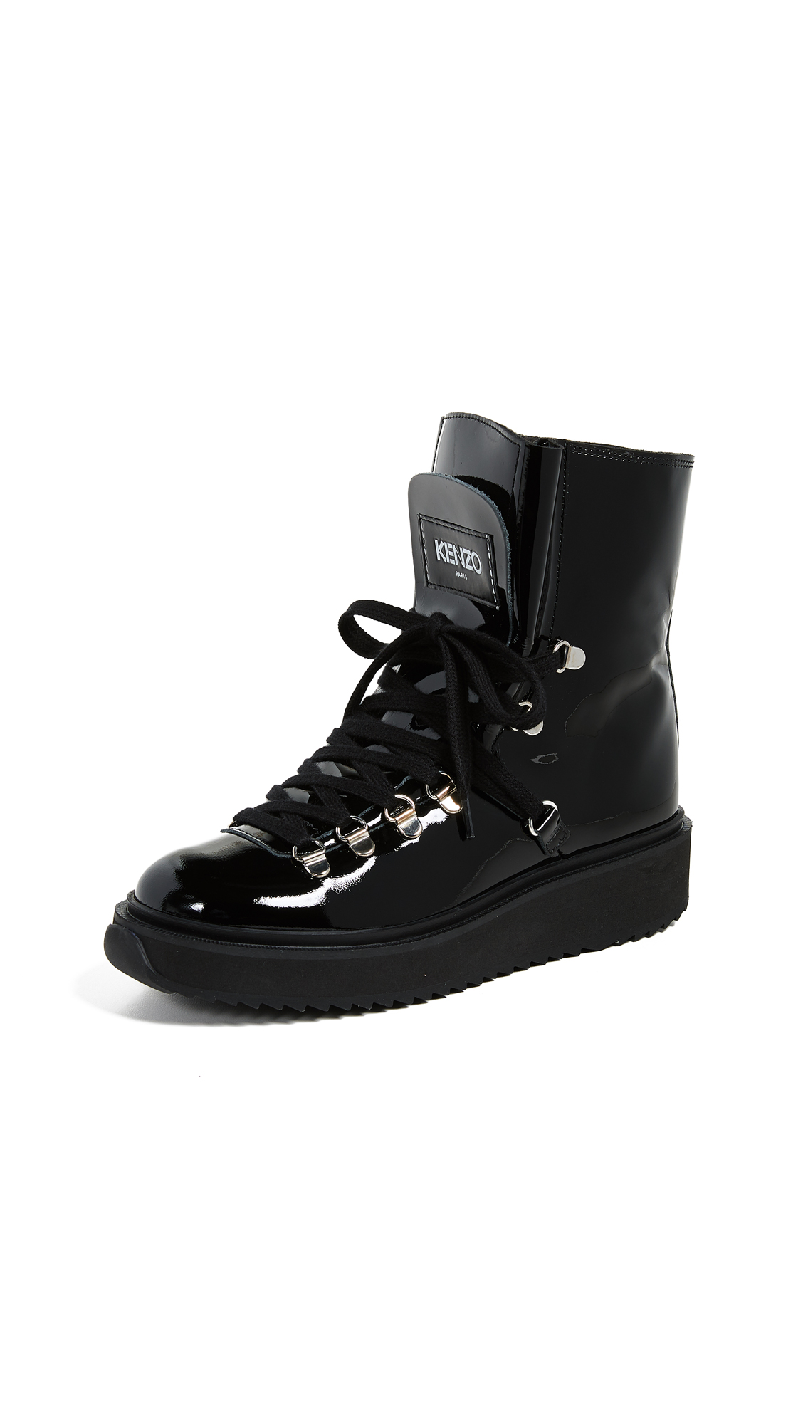 KENZO Alaska Boots - Black