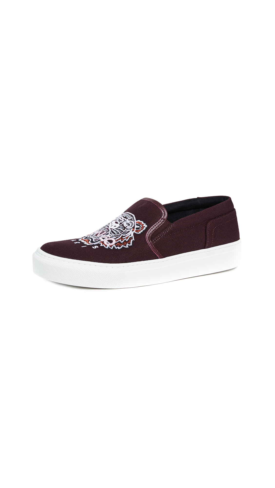 KENZO K-State Tiger Sneakers - Bordeaux