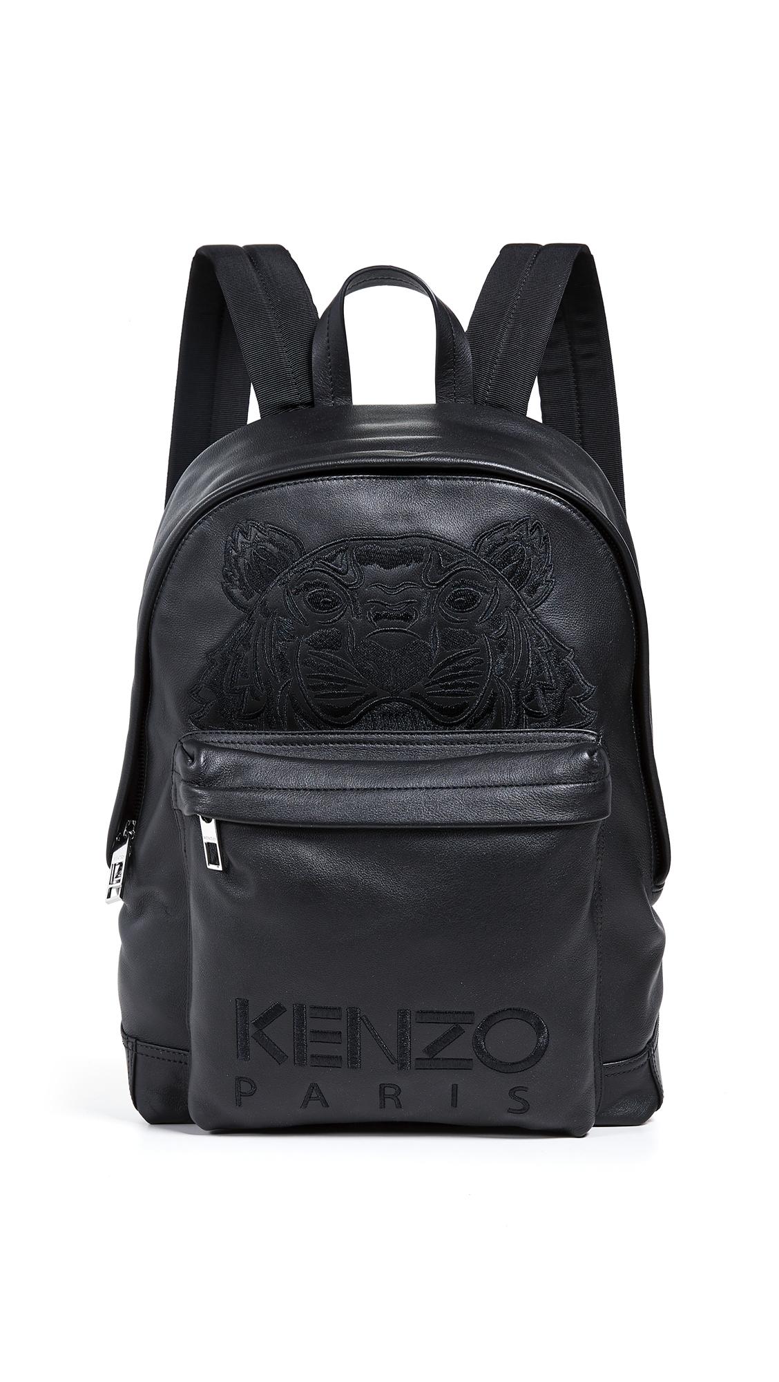 KENZO Iconic Rucksack - Black