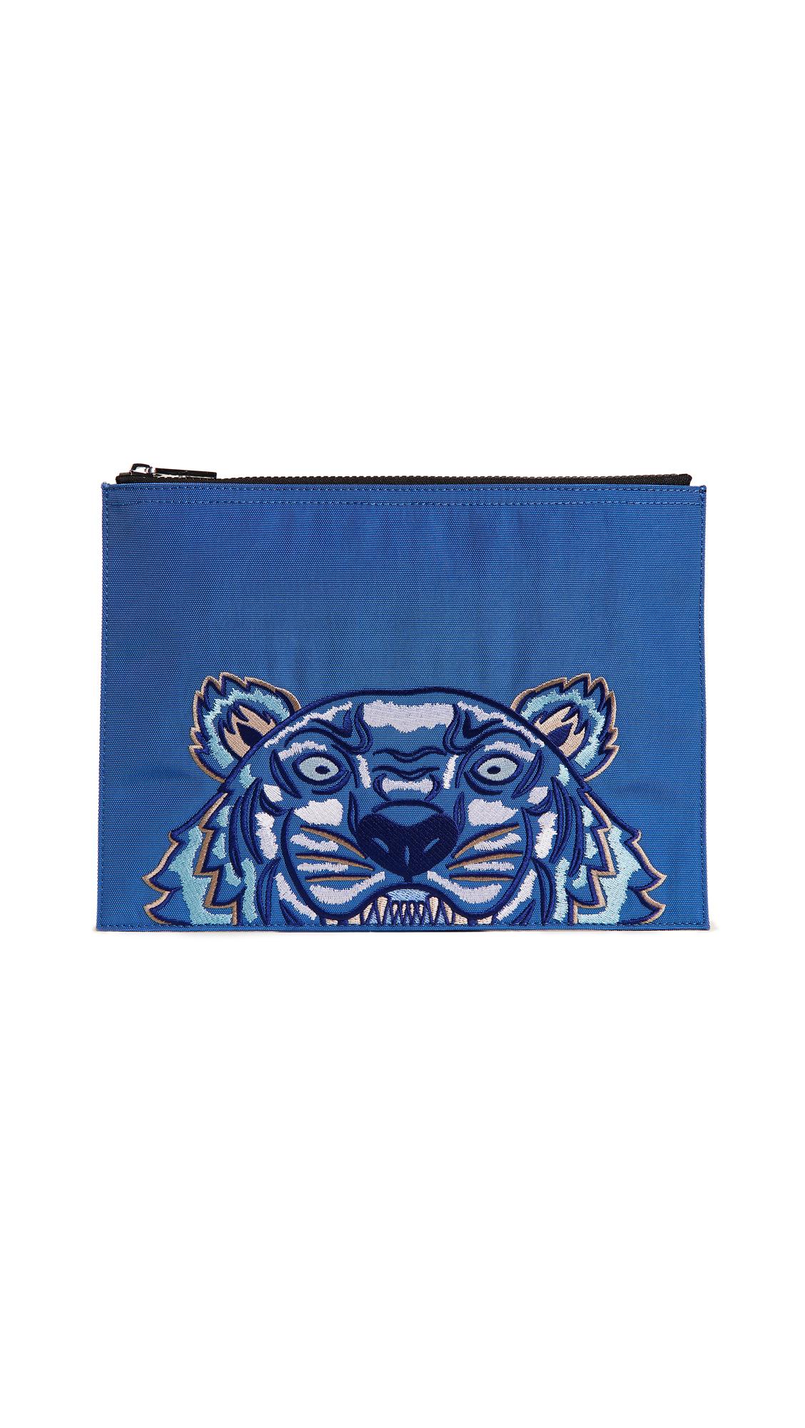 TIGER BLUE CAPSULE POUCH