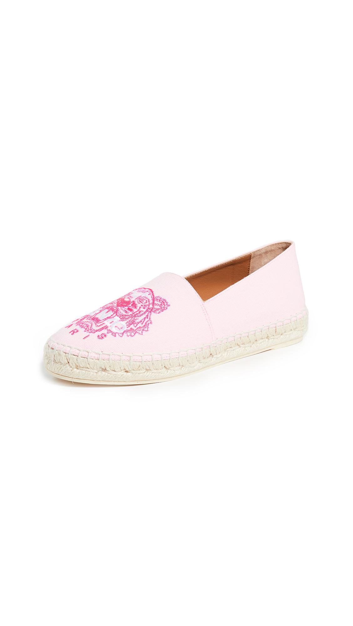 KENZO Classic Tiger Espadrilles - Pastel Pink