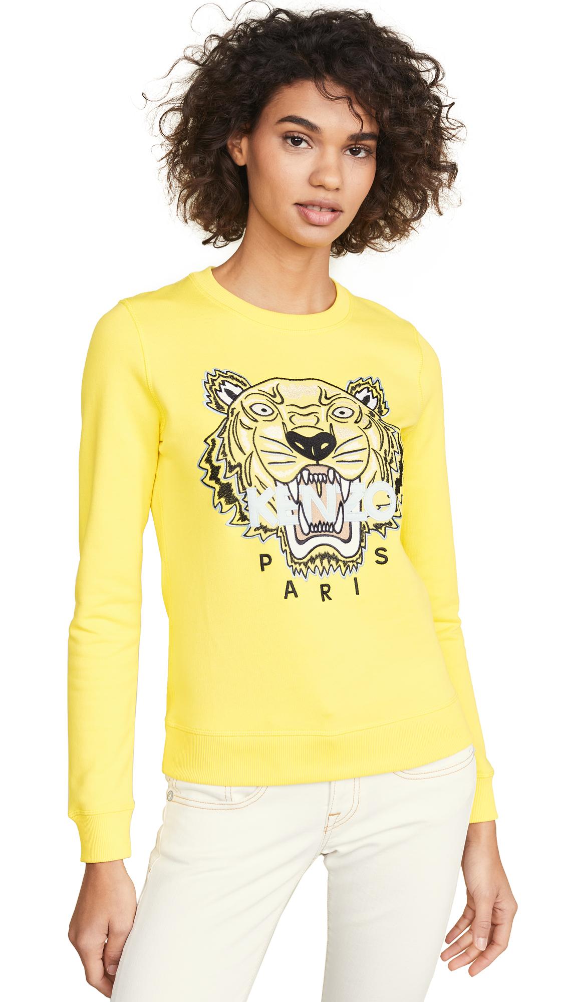KENZO Tiger Sweatshirt - Golden Yellow