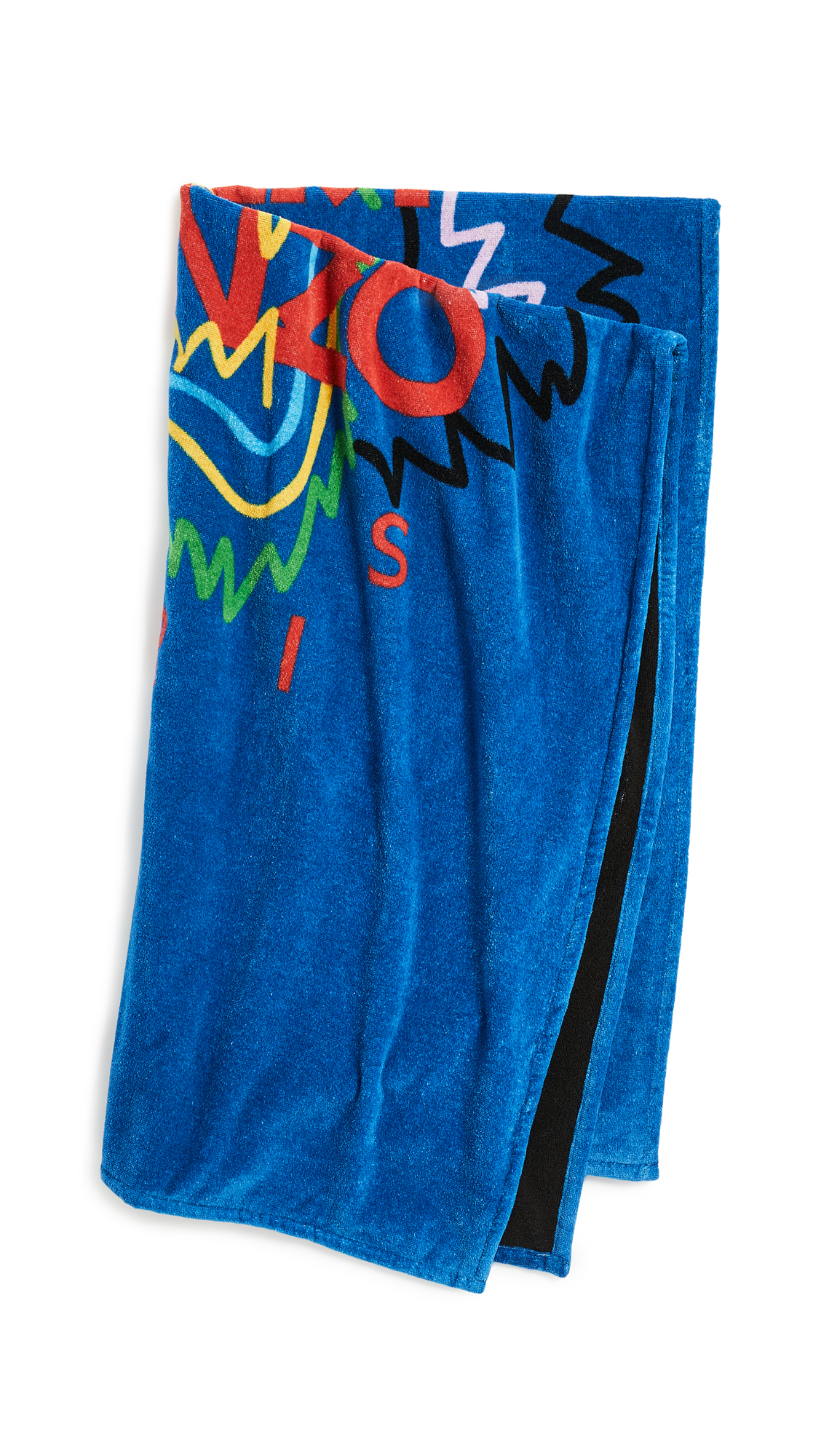 KENZO Tiger Head Beach Towel - Royal Blue