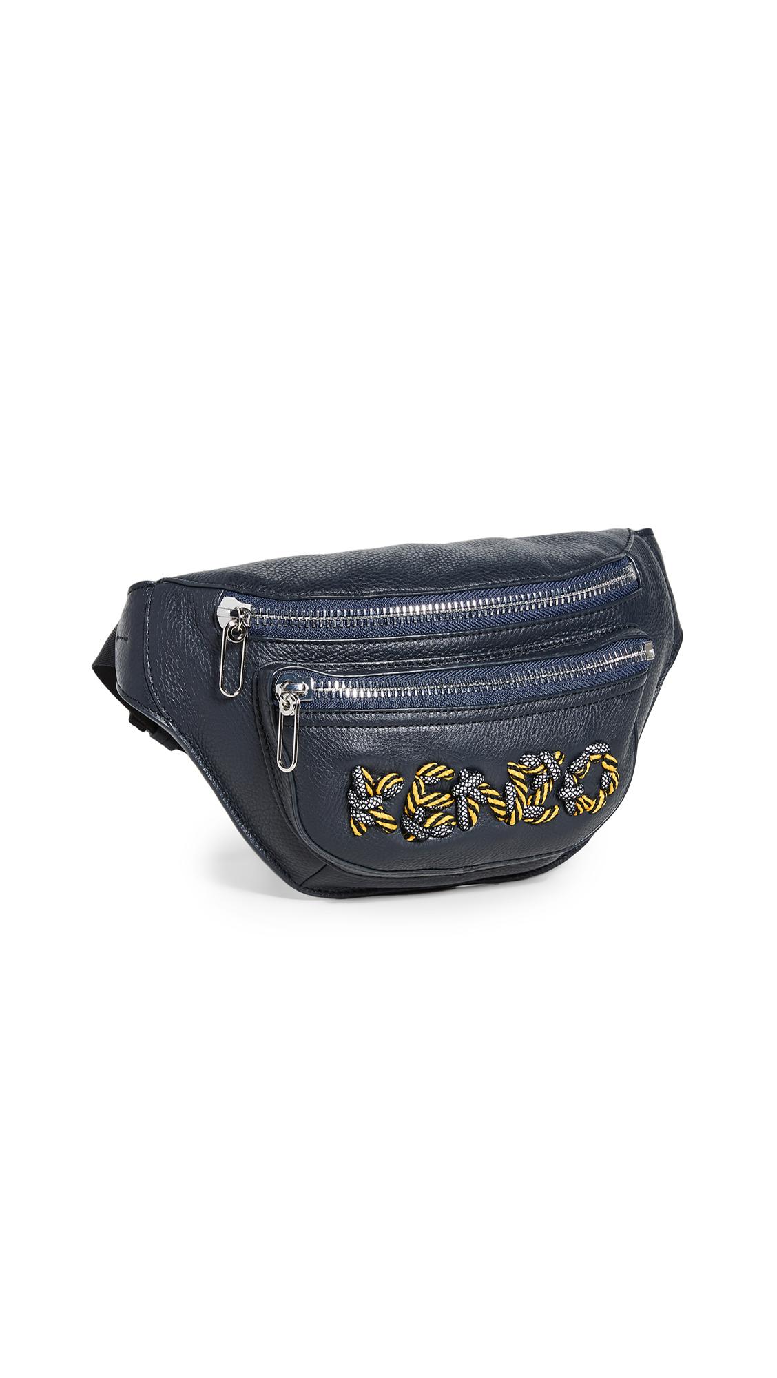 KENZO Kontrast Bum Bag - Navy Blue