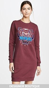0e6a18ea7b KENZO. Classic Tiger Sweatshirt Dress
