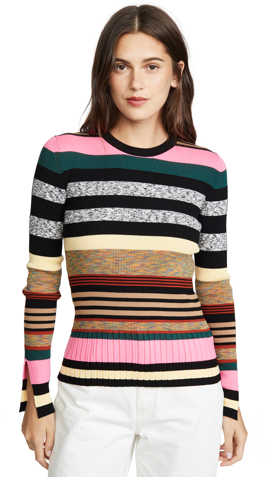 Buy KENZO online - photo of KENZO Multicolor Striped Sweater