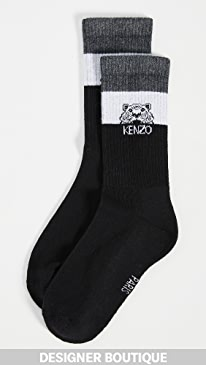 13c6ef9bab6b7 KENZO. Stripey Tiger Socks