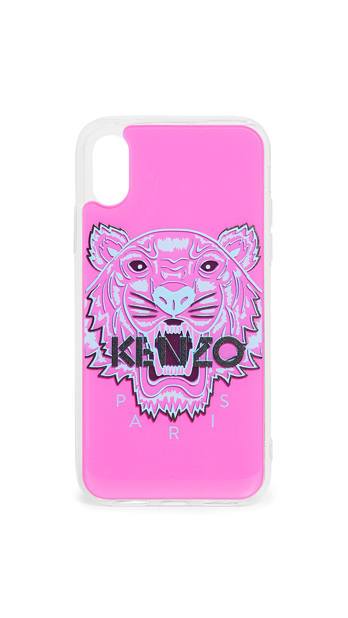 Kenzo Tiger Head Iphone Case Xs / X In Strawberry