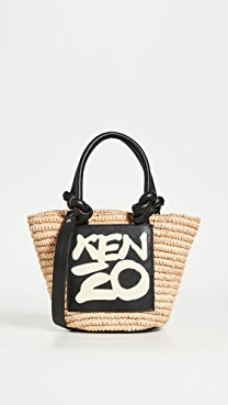 KENZO Mini Basket Tote Bag