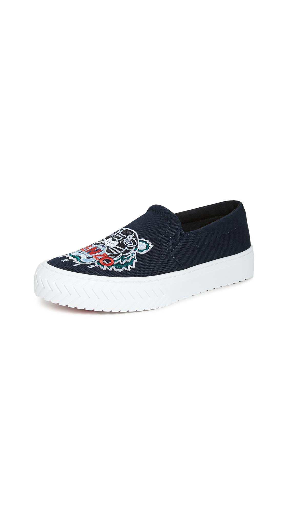 Buy KENZO online - photo of KENZO K-Skate Slip On Tiger Sneakers