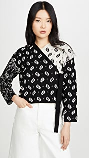 KENZO All Over Jacquard Cardigan