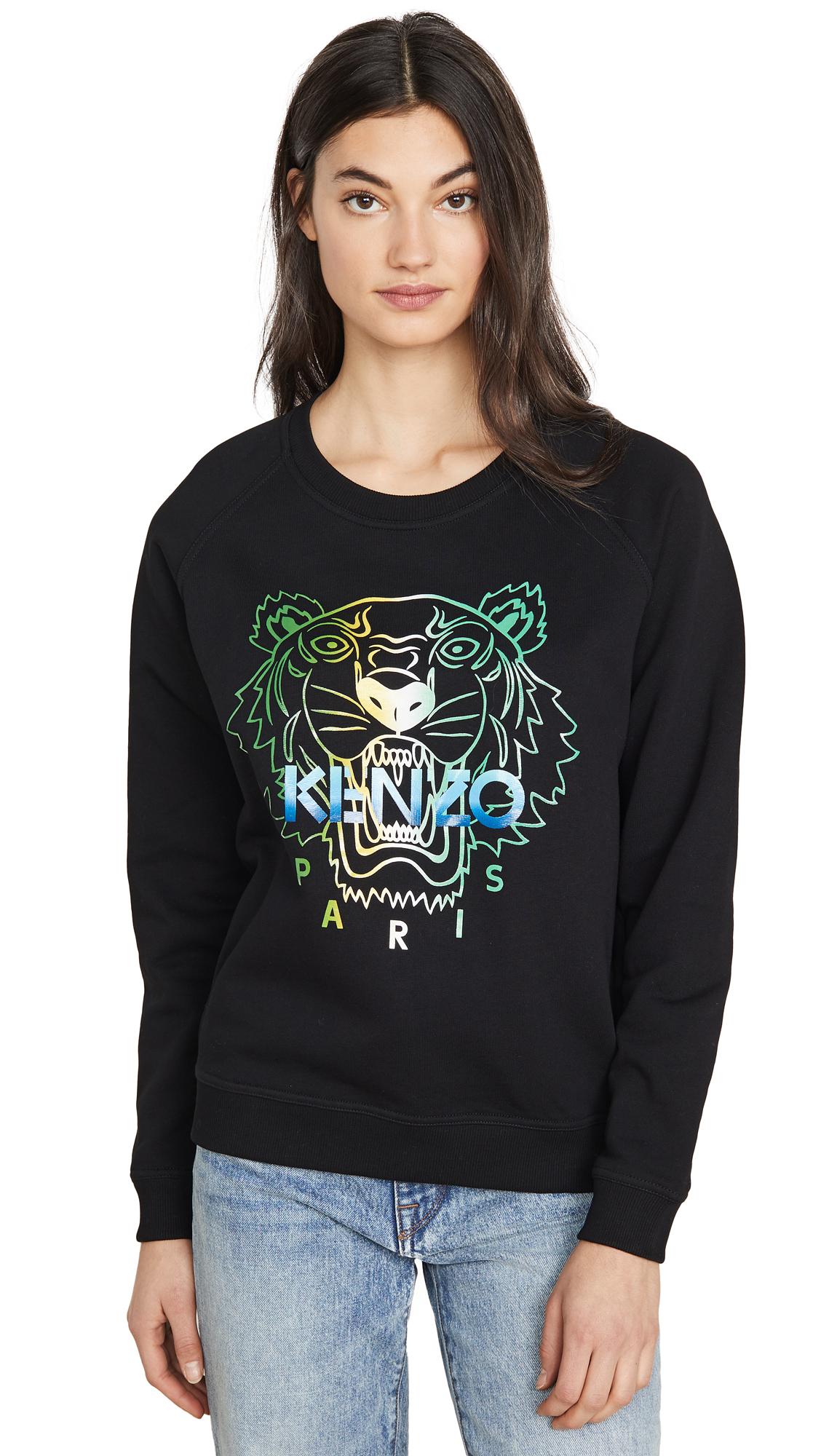 Buy KENZO online - photo of KENZO Raglan Straight Sweatshirt