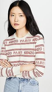KENZO All Over Kenzo Jacquard Sweater
