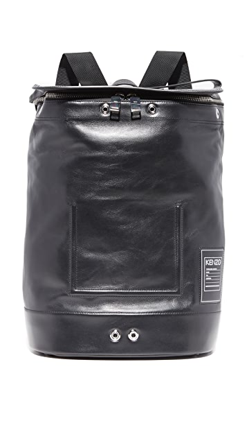 KENZO Kanvas Leather Backpack