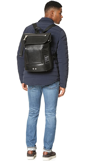 KENZO Kanvas Leather Backpack