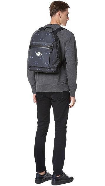 KENZO Essentiels Eyes Backpack