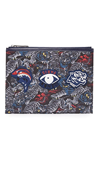 KENZO Essentiels A4 Pouch