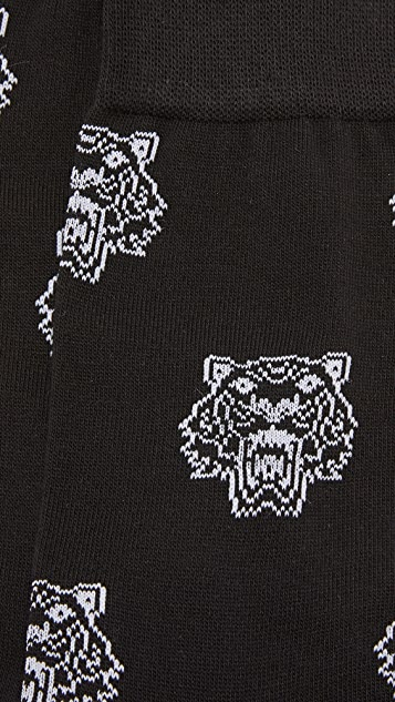 KENZO Tiger Head Socks