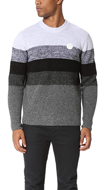 KENZO Wool Mohair Striped Pullover