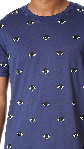 KENZO Allover Eye Print Tee