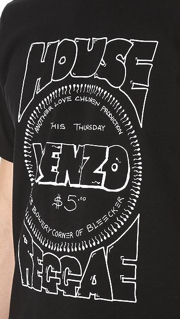 KENZO House Logo Tee