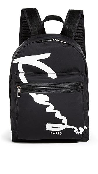 KENZO Nylon Signature Backpack
