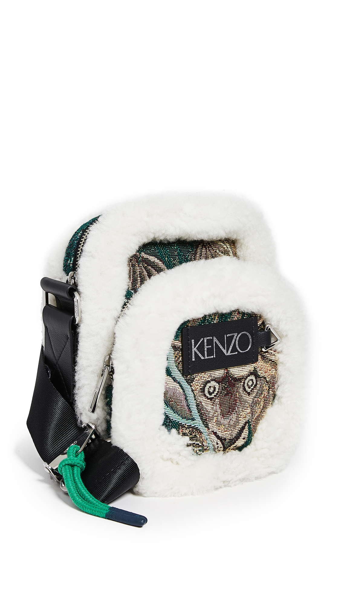 KENZO Memento Crossbody Shoulder Bag in 55Btlgreen