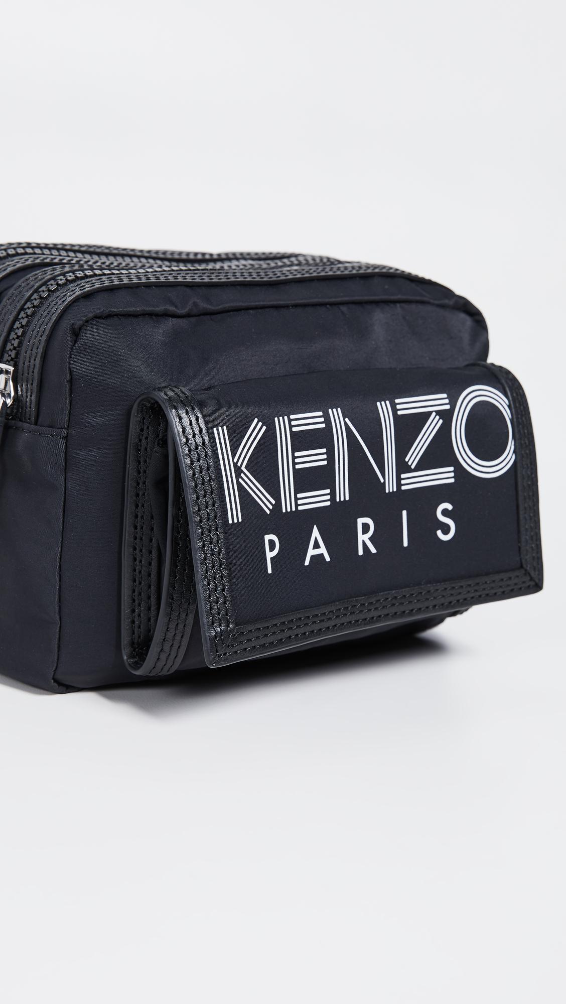 8976ddeb5 KENZO Sport Logo Crossbody Bag   EAST DANE