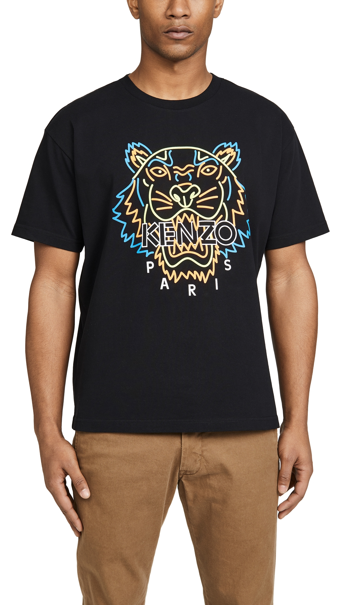 Kenzo T-shirts NEON TIGER T-SHIRT