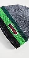 KENZO Logo Tag Knit Beanie