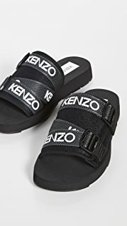 KENZO Kenzo Sport Papaya Slides