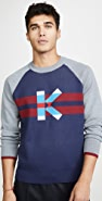KENZO Long Sleeve Graphic K Jumper Sweater