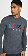 KENZO Kenzo Paris Merino Crew Neck Sweater