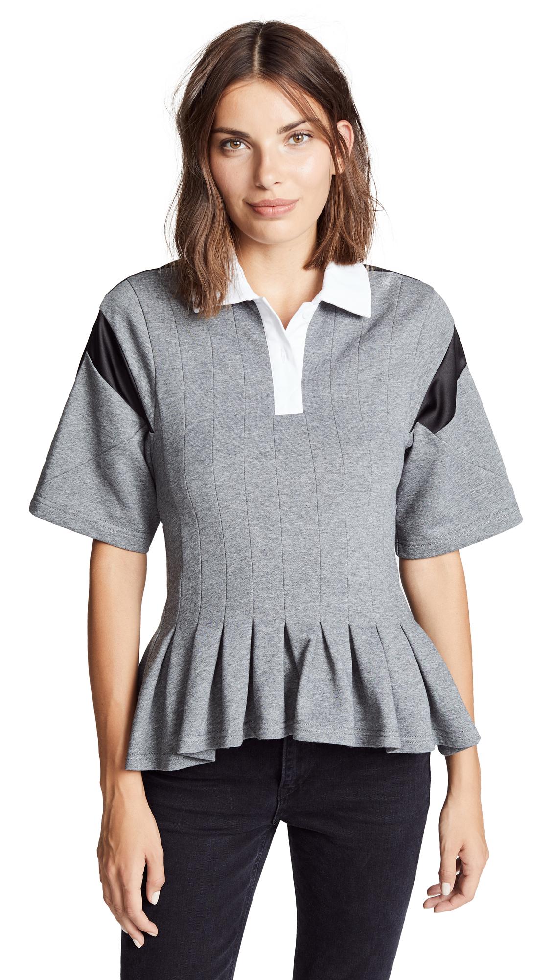 Buy Koche online - photo of Koche Pleated Polo Shirt