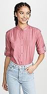 Kondi 金属色女式衬衫