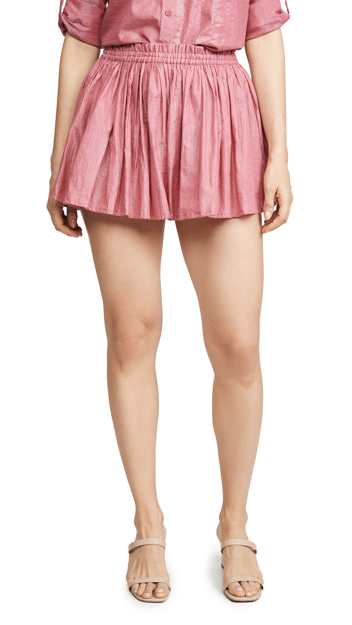 Buy Kondi online - photo of Kondi Metallic Shorts