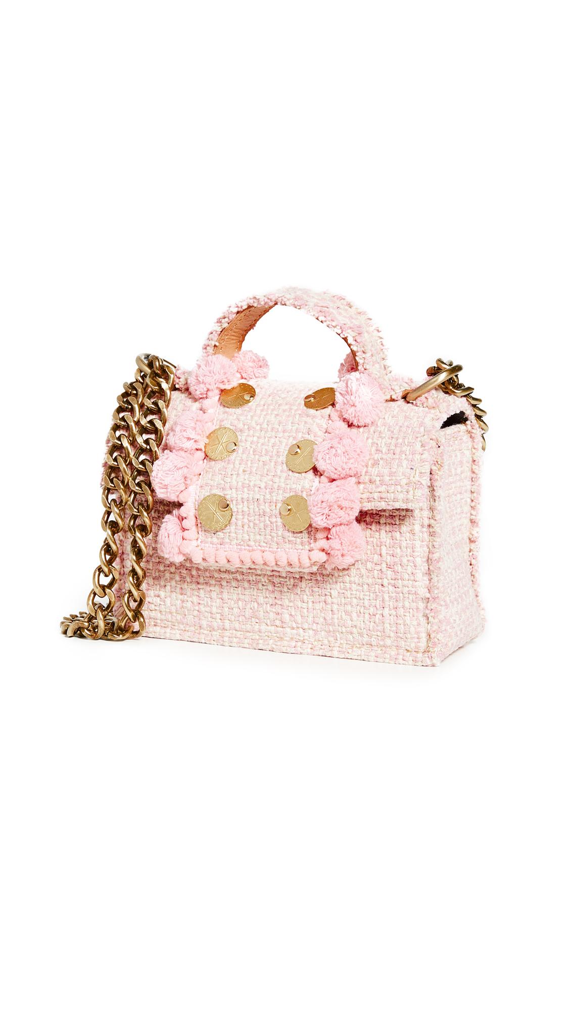 Kooreloo Petit Juliet Bag In Baby Pink